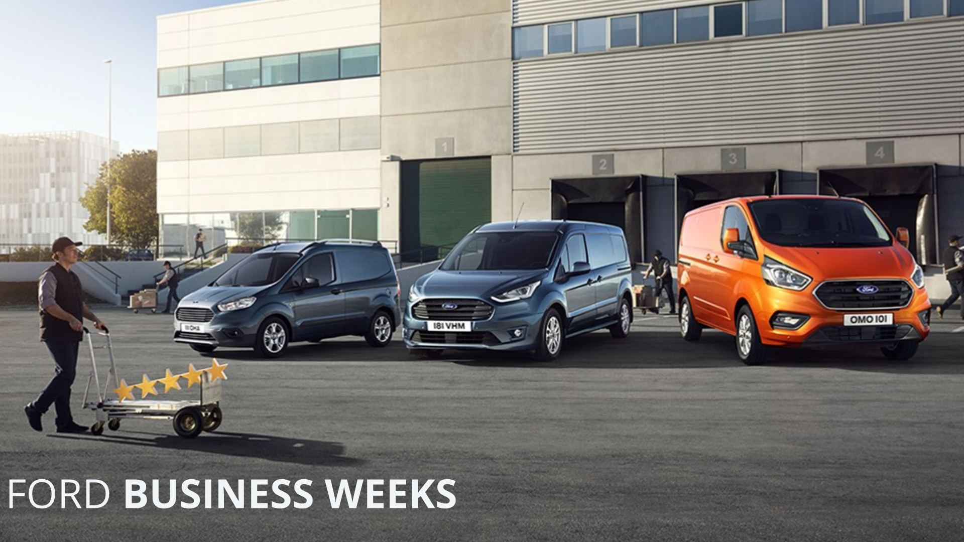 FORD BUSINESS WEEKS - Alege vehiculul comercial potrivit afacerii tale